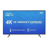 Smart Tv 4k Samsung 58 Visual Livres Hdr Un58ru7100gxzd