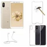 Smartphone Xiaomi Mi A2 4gb 64gb Dual Capa Pelicula Fone Bt