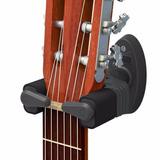 Suporte De Parede C  Trava Automática Violão Guitarra Baixo