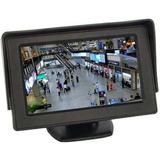 Tela Monitor Automotivo Lcd Tft 4 3   Carro Camera De Ré Dvd