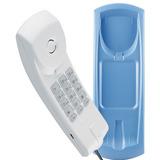 Telefone C  Fio Intelbras Gôndola Tc20 Mesa Parede Azul