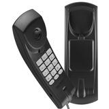 Telefone C  Fio Intelbras Gôndola Tc20 Mesa Parede Preto