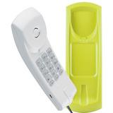 Telefone C  Fio Intelbras Gôndola Tc20 Mesa Parede Verde