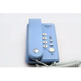 Telefone Com Fio Mesa E Parede Compacto 4 Funções 2 Cores