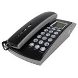 Telefone Fixo Fio Mesa Parede Bina Identificador Chamadas