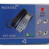 Telefone Fixo Maxtel Kxt 3035   Frete Grátis