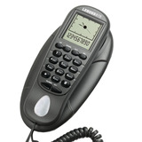 Telefone Gondola Mesa Parede Id Chamadas C  Fio Lebos B19