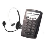 Telefone Headset Profissional Telemarketing Mt 108 Maxtel