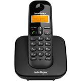 Telefone Sem Fio Intelbras Ts 3110 Preto Luminoso Dect 6 0