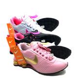 Tênis Nike Shox Feminino Deliver Avenue 4 Molas 3 Pares 2c18bc28188a7