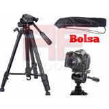 Tripé Universal Fotográfico Profissional Nikon Canon 1 80 Mt