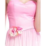Vestido De Festa Rosa Com Estampas  Ever pretty