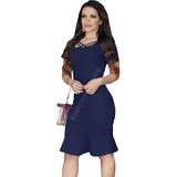 5383b08fc05a Vestido Jeans Curto | Loja do Som - Shopping, Música, Vídeos e ...