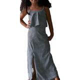 Vestido Longo Infantil E Juvenil  Tamanho 04 A 14