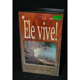 Vhs   Jesus Cristo  Ele Vive   Volume 2    Frete = R$15