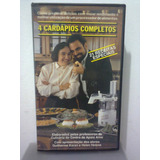 Vhs 4 Cardápios Completos Arno   C  Guilherme Karan