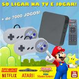 Video Game Retro Box Super Nintendo Classic Snes  7000 Jogos