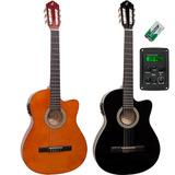 Violão Flat Eletroacústico Nylon Eq 3 Bandas Nf14 Giannini