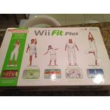 Wii Fit Plus   Completíssimo Na Caixa   Impecável