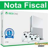 Xbox One S 1tb 4k 2 Controles nota Fiscal Garantia De 1 Ano