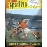 sll  Revista Manchete Esportiva 89 Flamengo Fluminense Pelé