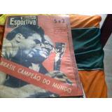sll  Revista Manchete Esportiva N 138 Final Copa  Mundo 58