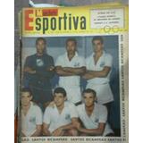 sll  Revista Manchete Esportiva N 60   Santos Bicampeão